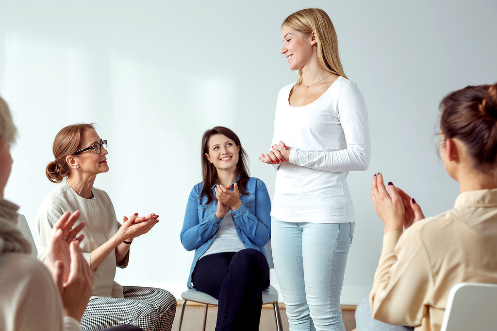 Trainingsmethoden beim CONVA Frauentraining