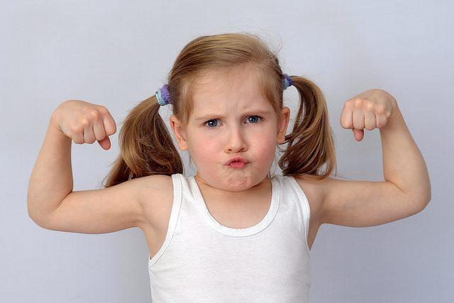starkes Mädchen dank CONVA Sicherheitstraining