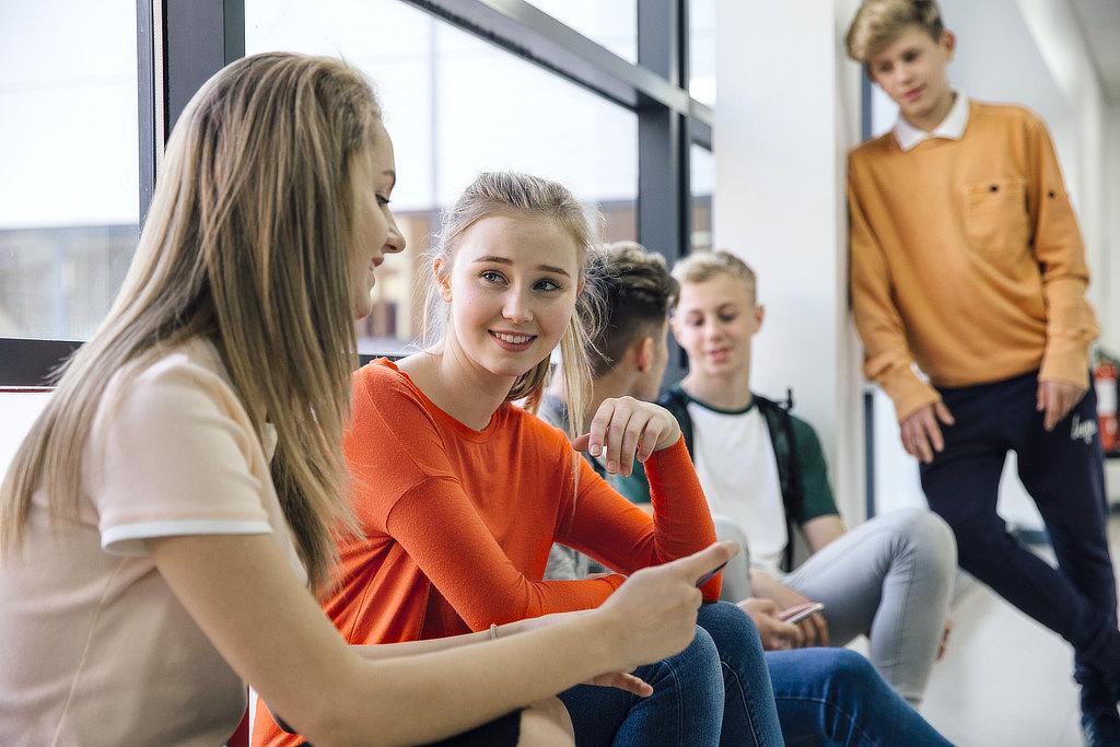 Teenies haben Spaß beim CONVA Teenietraining